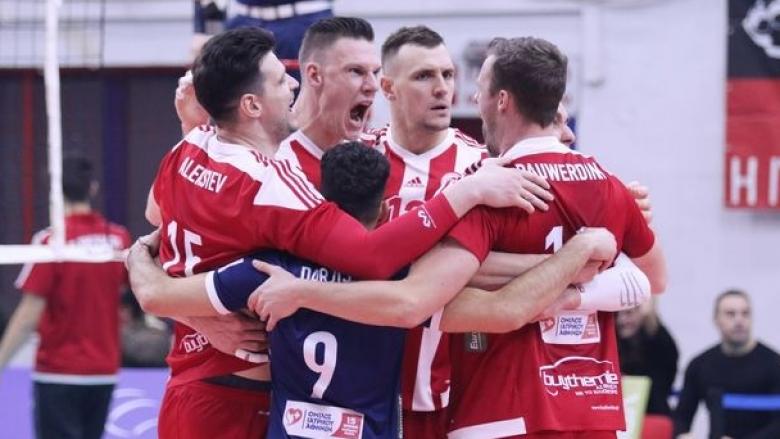 Тодор Алексиев заби 13 точки, Олимпиакос удари слабак в Гърция