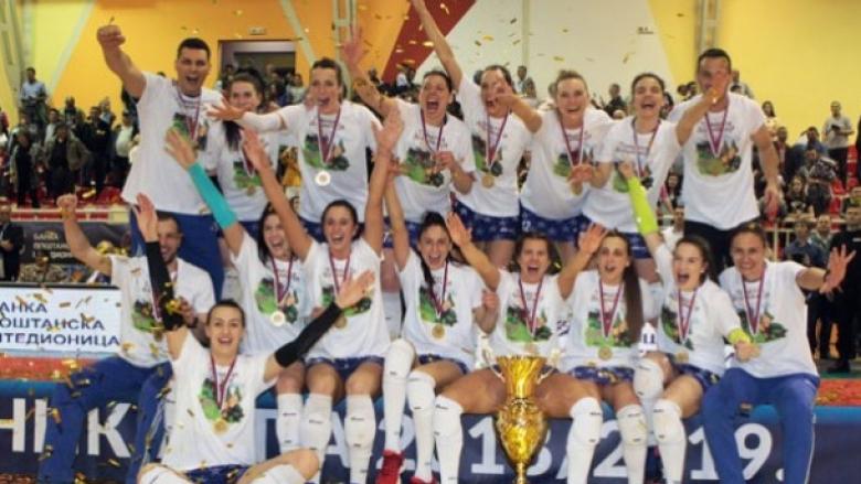 Ралица Василева и Железничар вдигнаха Купата на Сърбия за втори път