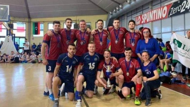 Волейболистите на Медицинския в Пловдив втори в Европа