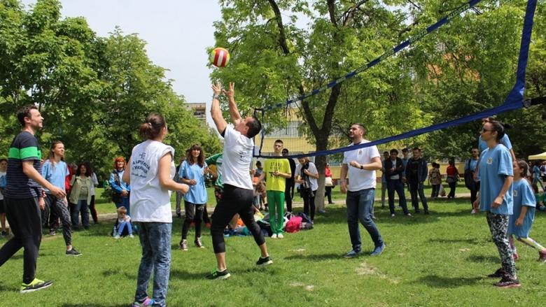Над 200 деца, родители и волейболни величия се обединиха в каузата Не на Агресията в училище!