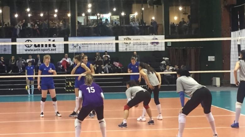 Волейболистките на България взеха гейм на световния шампион