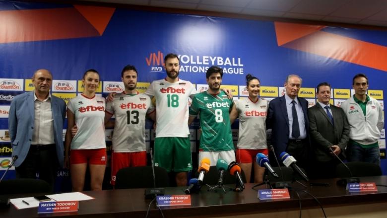 Представиха новите екипи на националните отбори (снимки)