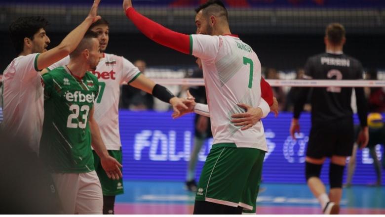 България с отличен старт във Волейболната лига на нациите