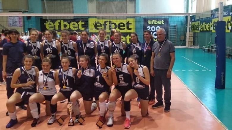 Левски спечели шампионската титла при кадетките