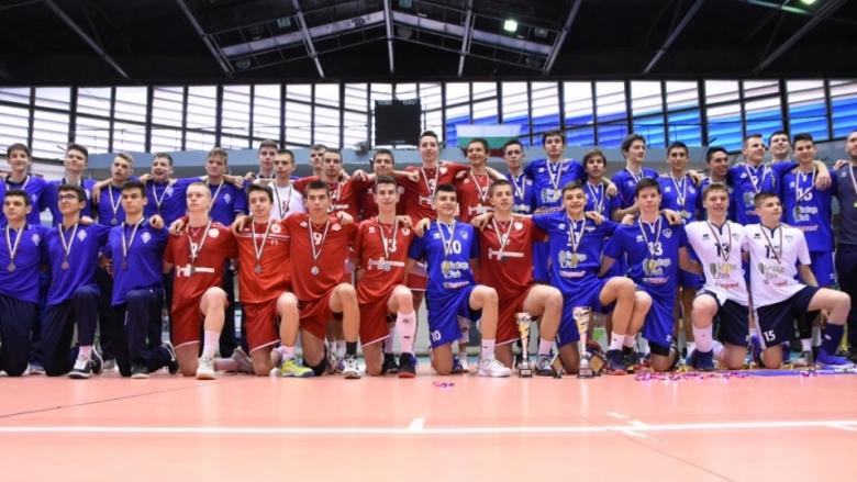 Фотогалерии от финала Левски - ЦСКА и награждаването на призьорите при кадетите