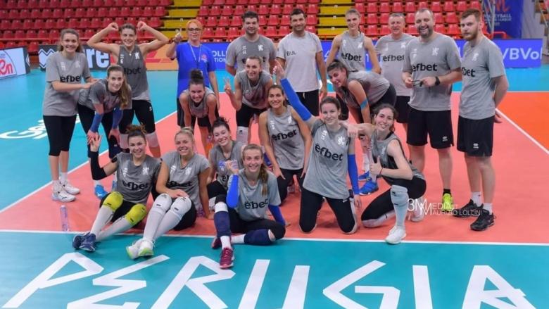 Волейболистките на България с първа тренировка в Италия