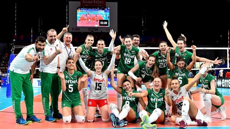Фотогалерия от страхотната победа на България срещу Корея