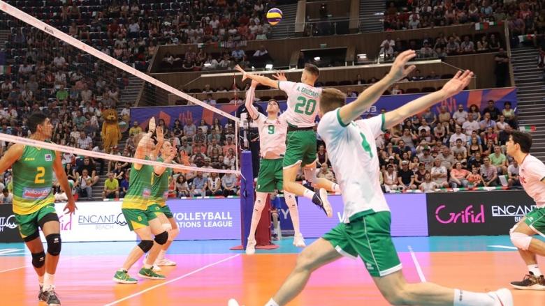 Фотогалерия от победата на България над Австралия