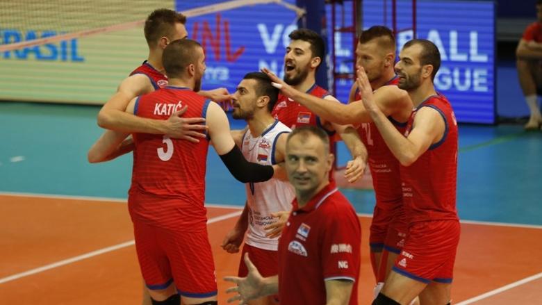 Сърбия нанесе първо поражение на Бразилия