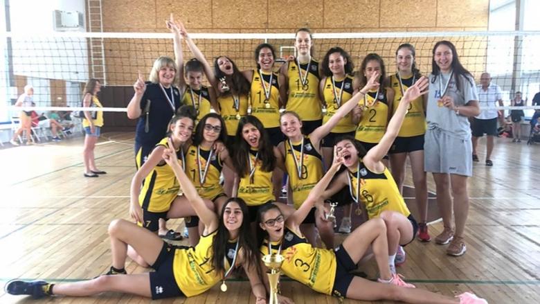 Марица спечели титлата при 13 годишните момичета (снимки)