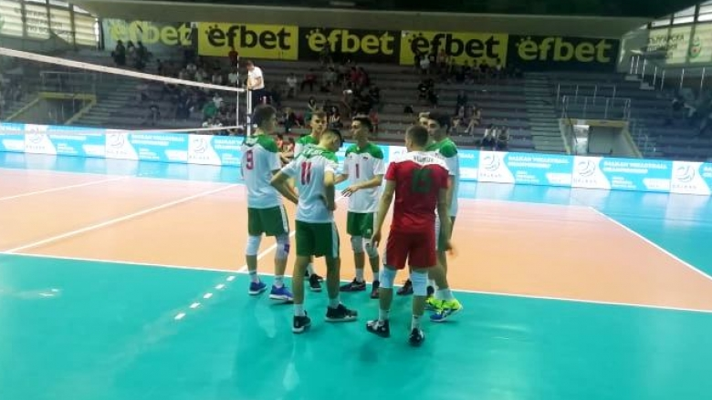 България U17 завърши като лидер груповата фаза на Балканиадата