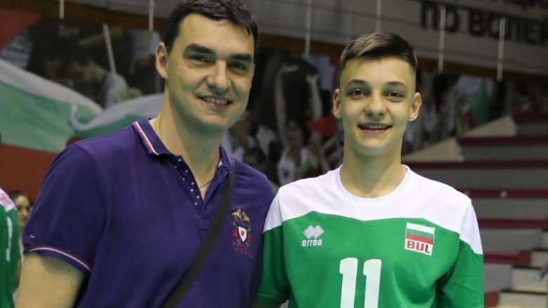 Алекс Николов: Надявам се да се класираме за финал, имаме да защитаваме титла