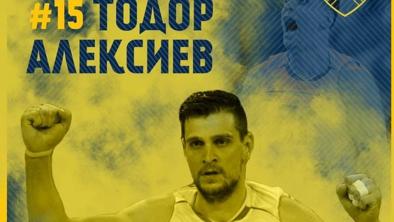 Тодор Алексиев подсилва Хебър за новия сезон