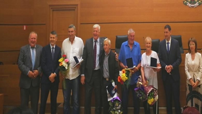 Спортни легенди получиха почетен знак на Пловдив