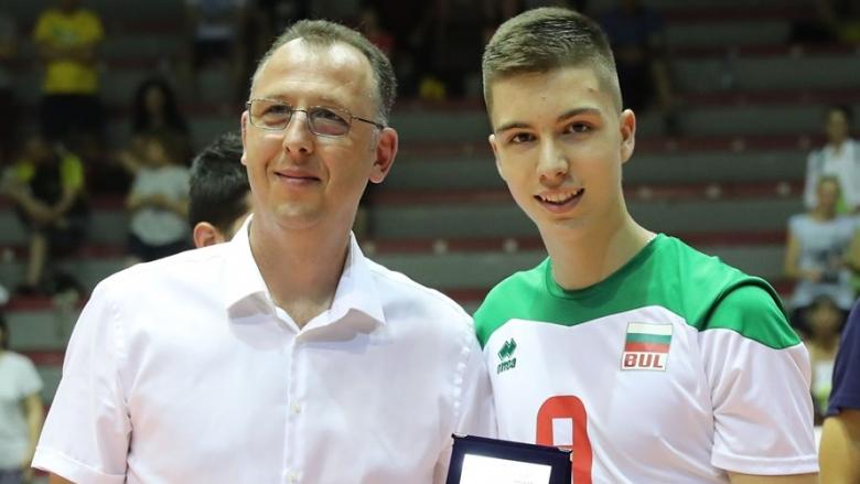 MVP на Балканиадата U17 ще играе за Левски София