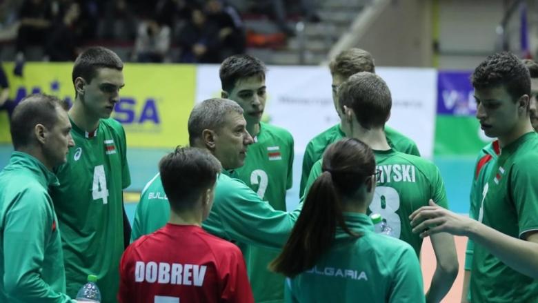 България U19 ще играе за 5-8 място в Баку