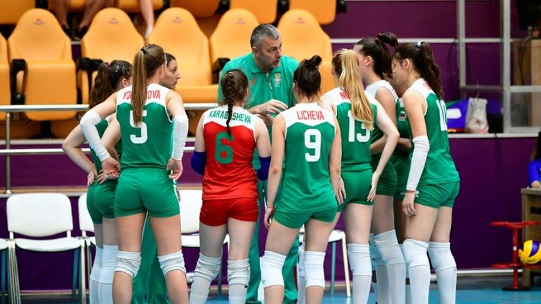 Националките U18 без победа в групата в Баку (обновено)