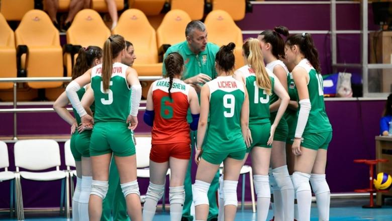 България U18 завърши на осмото място в Баку