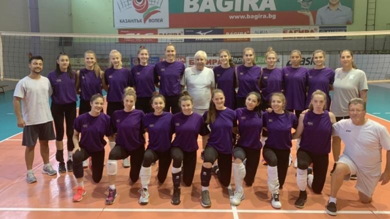 Под ръководството на Стоян Гунчев националките U18 започнаха подготовка за световното