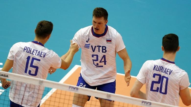 Русия не позволи изненада от Куба, българин свири мача