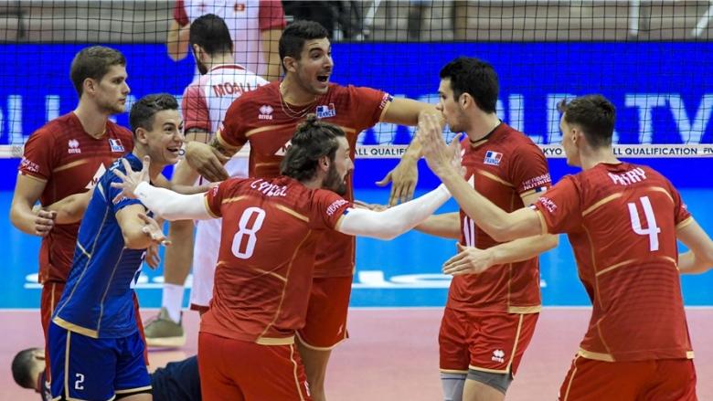 Франция завърши с победа над Тунис в Гданск