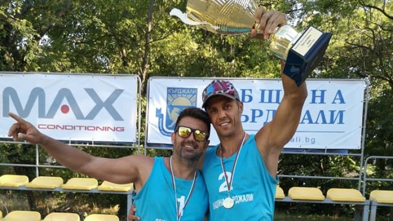 Колев & Митев плажни шампиони на България за втора поредна година