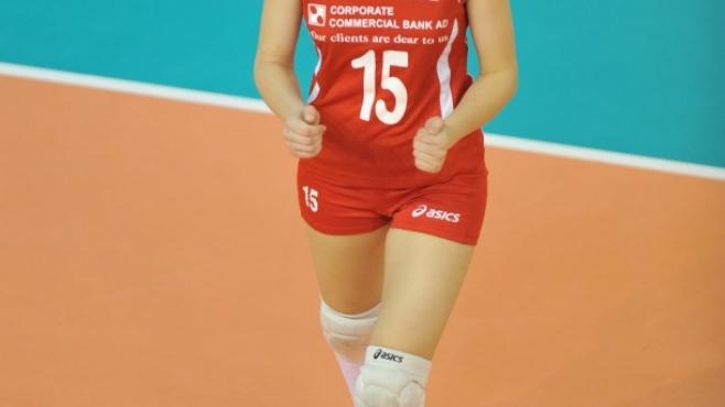 Дебютантка пътува с женския национален отбор на България за Европейското първенство