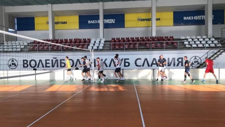 Славия ще разчита на млади волейболисти за сезона в Суперлигата