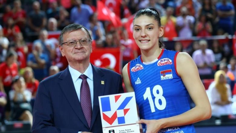 Тияна Бошкович - MVP на Евроволей за втори пореден път