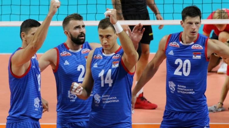 Сърбия разби европейския вицешампион на старта в група В