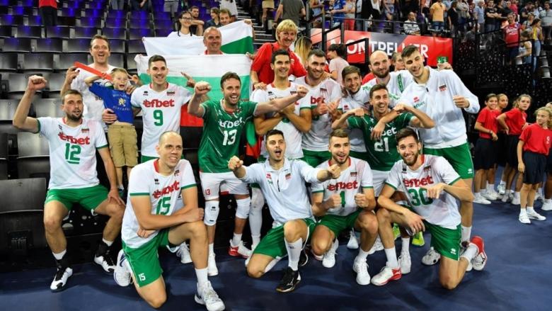 Фотогалерия от победата на България над Румъния