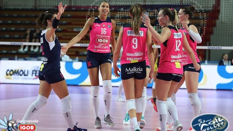 Елица Василева и Новара с драматичен успех в последната контрола