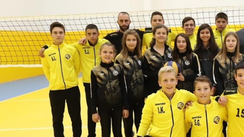 Реновирана зала в Перник отвори врати за волейбола