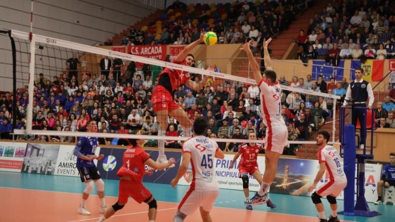Краси Георгиев и Аркада с ударен старт в Шампионската лига