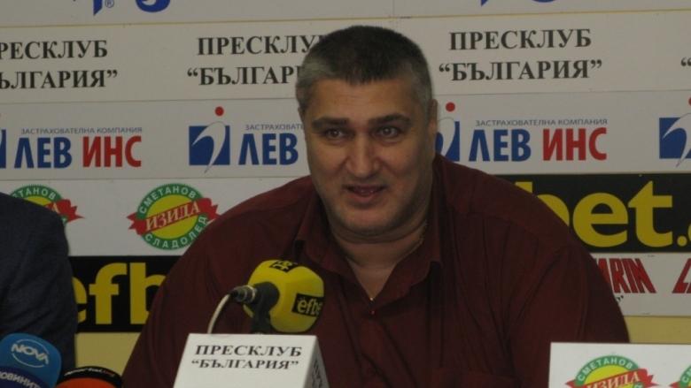 Издигнаха официално кандидатурата на Любо Ганев за президент на БФВ