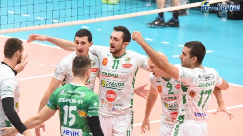 Добруджа не даде гейм на ЦСКА и се върна на победния път