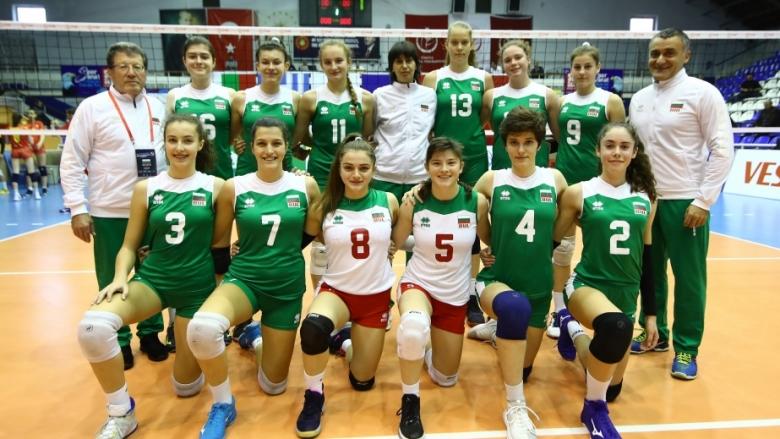 България U17 ще играе за място на Евроволей 2020 във втори кръг на квалификацията