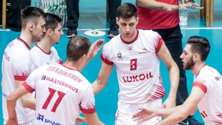 Шампионите на България с фалстарт в Купата на ЦЕВ