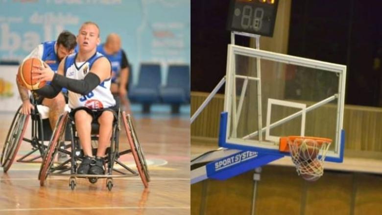 Млад баскетболист на количка е първият носител на приз