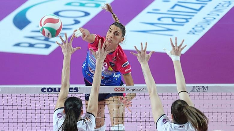 Елица Василева и Новара с 12-а победа в Италия