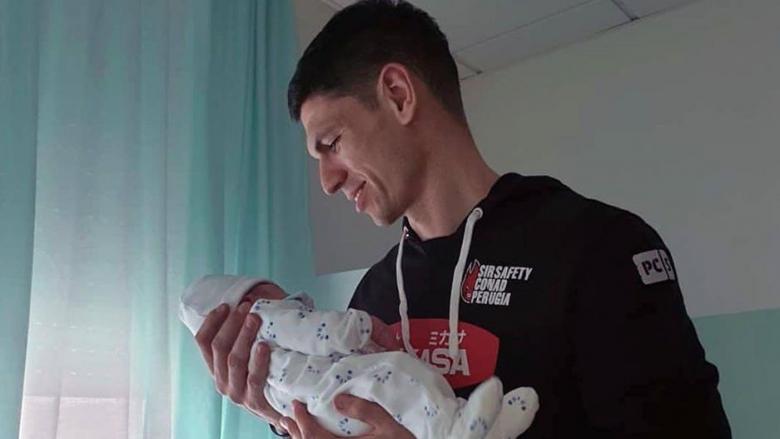 Европейски шампион със Сърбия стана баща на син