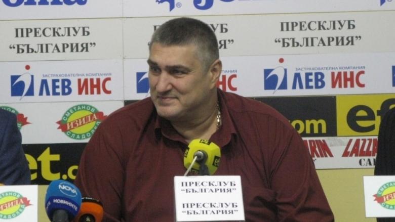 Любо Ганев остава единствен кандидат за поста президент на БФВолейбол