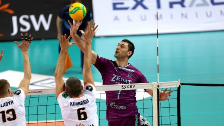 Цветан Соколов и Зенит не успяха да преборят Ястжембски (Венгел)
