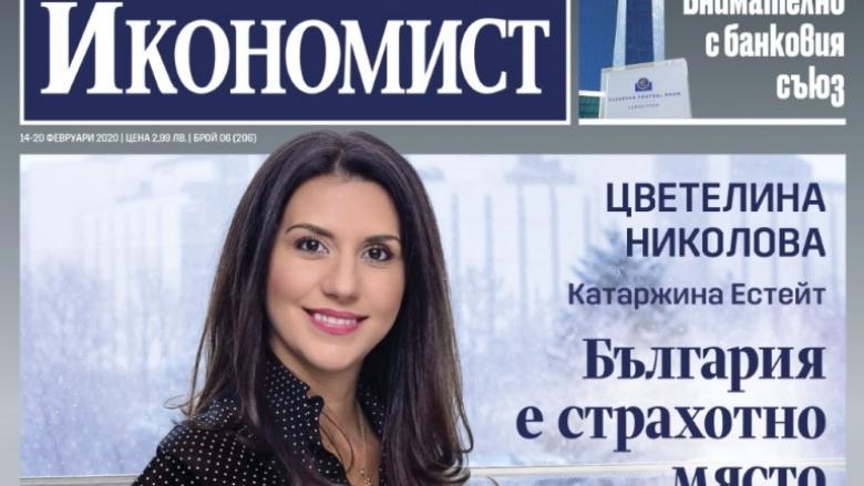 Икономист: Цветелина Николова – България е страхотно място за вино и искам да го покажа