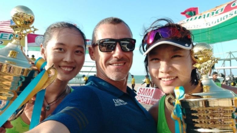 Българин с амбиции да класира Китай за Токио 2020 в плажния волейбол