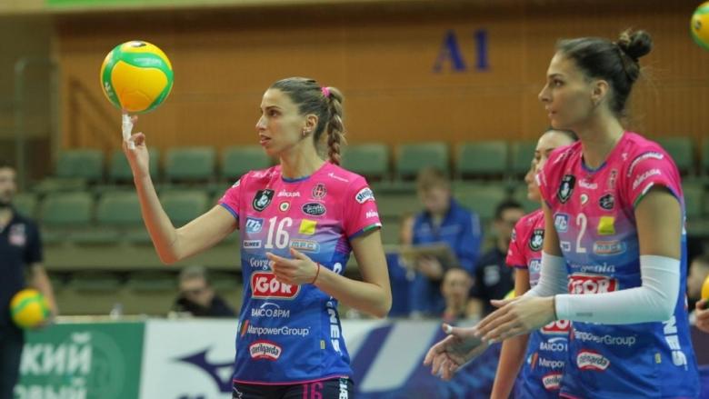Елица Василева и Новара срещу турски гранд на четвъртфиналите в ШЛ (видео)