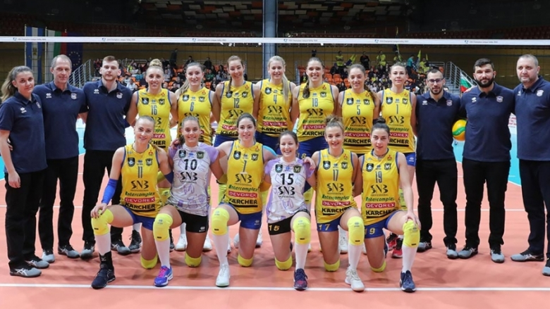 Волейболистките на Марица - Отбор на месец февруари