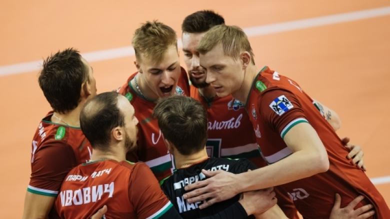 ЦЕВ отложи и мача между Локомотив (Новосибирск) и Зенит (Санкт Петербург)