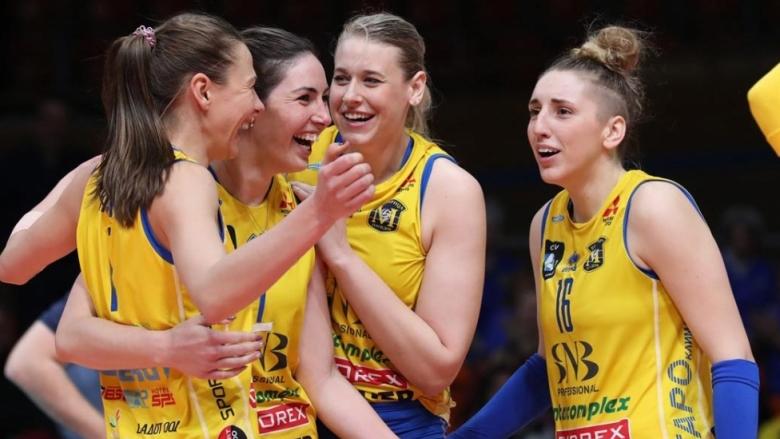 Шампионът Марица трети по титли в женското първенство
