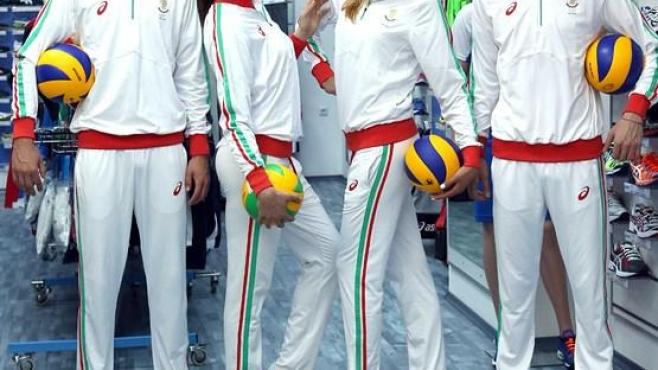 Цветовете на националното знаме вплетени в екипировката за Баку